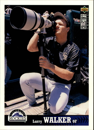 Photo of 1997 Collector's Choice #98 Larry Walker