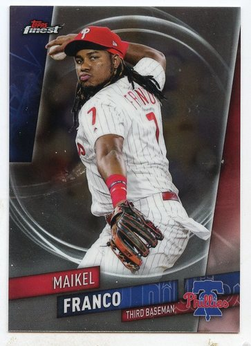 Photo of 2019 Finest #17 Maikel Franco