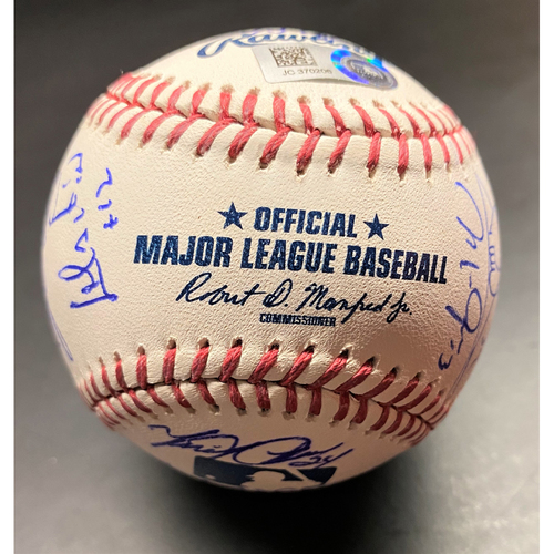 Detroit Tigers 2018 Team Signed Baseball (MLB AUTHENTICATED)