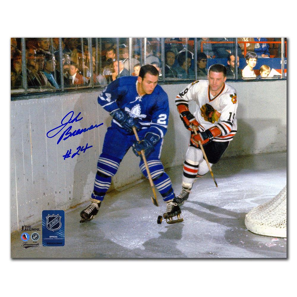 John Brenneman Toronto Maple Leafs Autographed 8x10