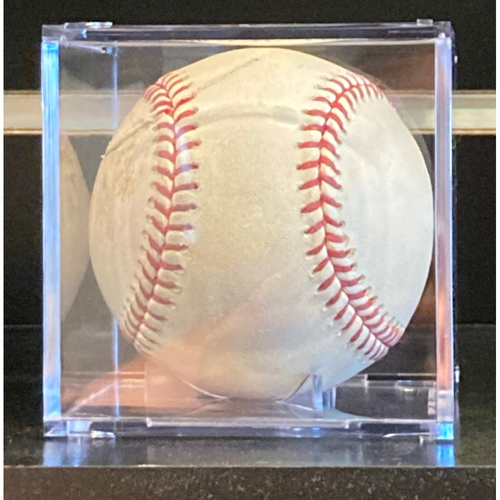 Photo of Game-Used Baseball from Lucas Giolito No Hitter on August 25, 2020