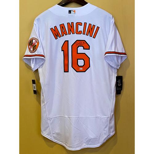 Photo of Trey Mancini:  Jersey - Autographed