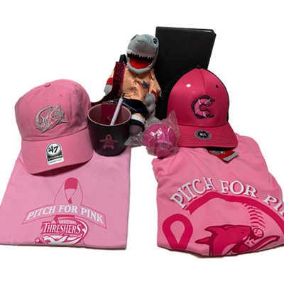 Threshers Pitch For Pink Basket