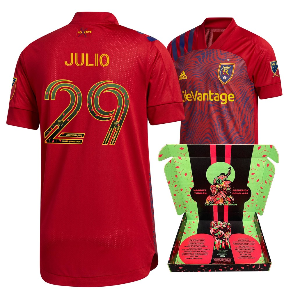 Anderson Julio Real Salt Lake Match-Used & Signed
