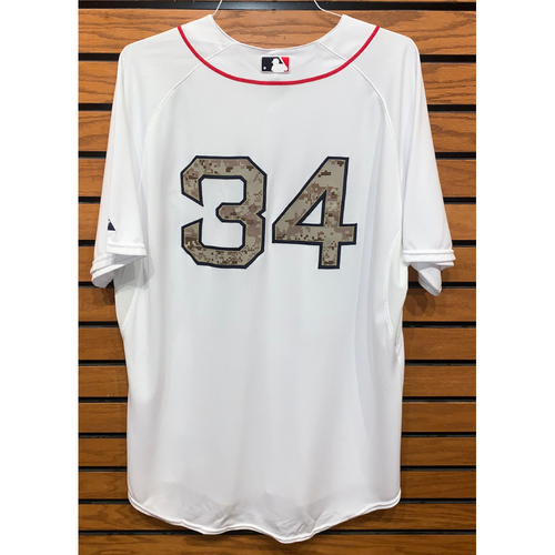 Photo of #34 Team Issued 2013 Memorial Day Home Jersey