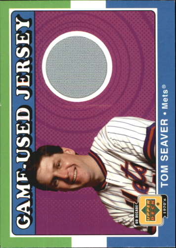 Photo of 2001 Upper Deck Decade 1970's Game Jersey #JTS Tom Seaver