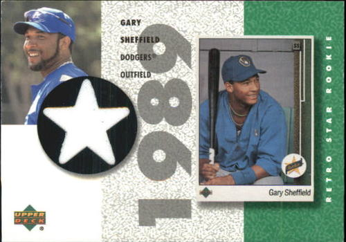 Photo of 2002 UD Authentics Retro Star Rookie Jerseys #SRGS Gary Sheffield
