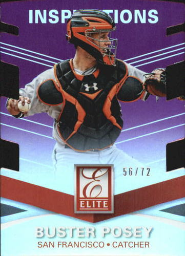Photo of 2015 Elite Inspirations #48 Buster Posey/72