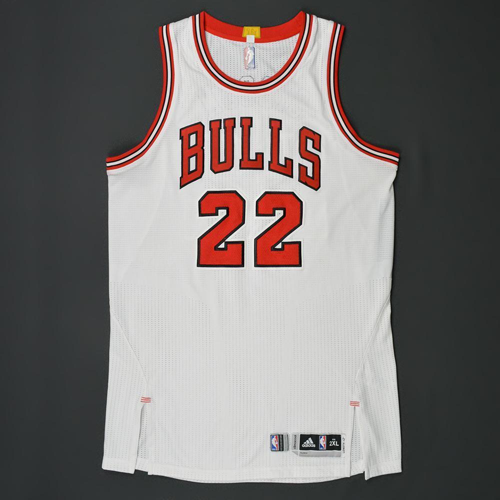 info for c3766 451da Taj Gibson - Chicago Bulls - Kia NBA Tip-Off '16 - Game-Worn ...