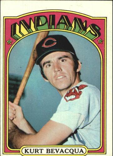 Photo of 1972 Topps #193 Kurt Bevacqua RC