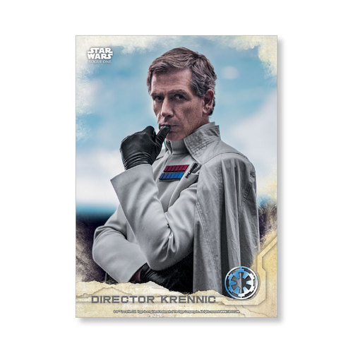 Director Krennic 2016 Star Wars Rogue One Series One Base Poster - # to 99