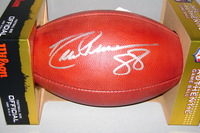 NFL - COWBOYS DREW PEARSON SIGNED AUTHENTIC FOOTBALL