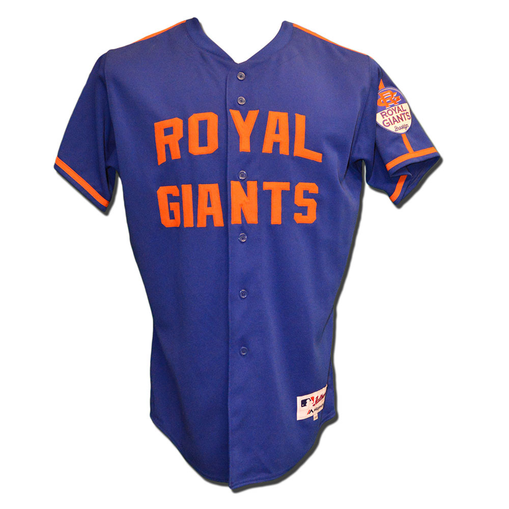 finest selection e9363 8da31 MLB Auctions | Travis d'Arnaud #7 - Game Used Royal Giants ...