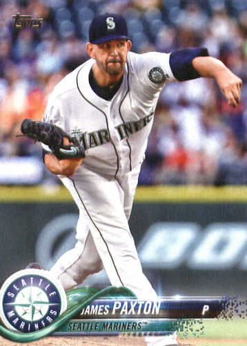 Photo of 2018 Topps #143 James Paxton