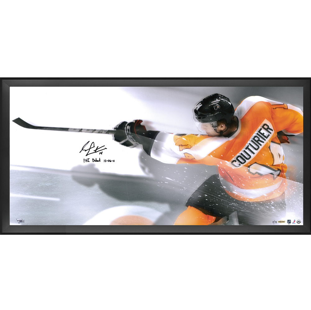 Sean Couturier Philadelphia Flyers Framed Autographed 36