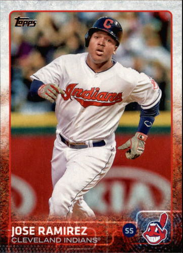 Photo of 2015 Topps #447 Jose Ramirez