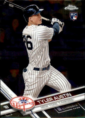 Photo of 2017 Topps Chrome #78 Tyler Austin RC