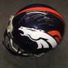 NFL - Broncos Von Miller signed Broncos proline helmet