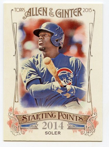 Photo of 2015 Topps Allen and Ginter Starting Points #SP17 Jorge Soler