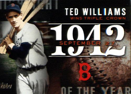 Photo of 2015 Topps Highlight of the Year #H38 Ted Williams