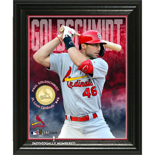 Photo of Paul Goldschmidt Elite Series Bronze Coin Photo Mint