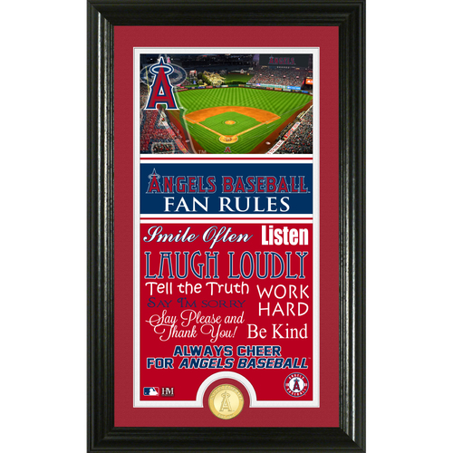 Photo of Los Angeles Angels Fan Rules Supreme Bronze Coin Photo Mint