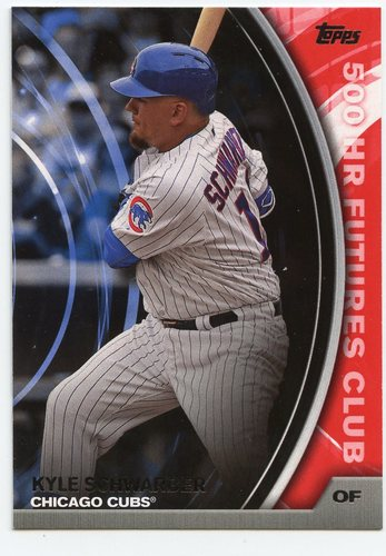 Photo of 2016 Topps Update 500 HR Futures Club #50015 Kyle Schwarber