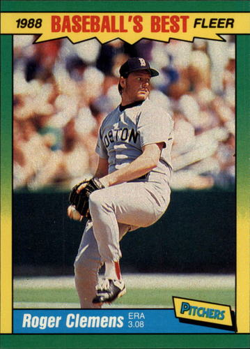 Photo of 1988 Fleer Sluggers/Pitchers #9 Roger Clemens