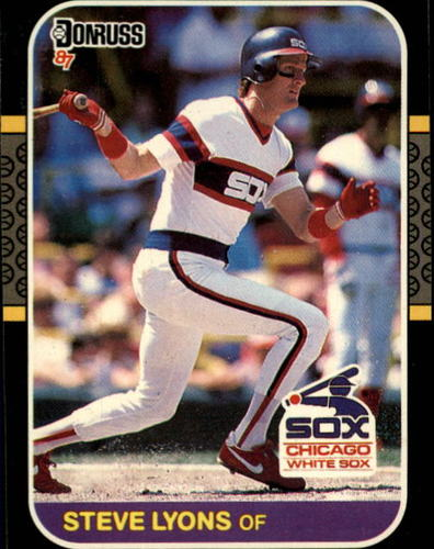 Photo of 1987 Donruss #409 Steve Lyons