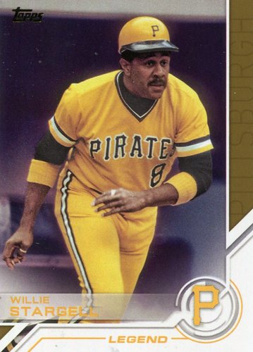 Photo of 2017 Topps Salute #S158 Willie Stargell