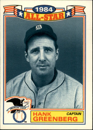 Photo of 1985 Topps Glossy All-Stars #22 Hank Greenberg CAPT