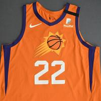 Deandre Ayton - Phoenix Suns - Game-Worn Statement Edition Jersey - 1st Half - 2019-20 NBA Season Restart with Social Justice Message