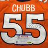 STS - Broncos Bradley Chubb Signed Game Issued Jersey Size 42