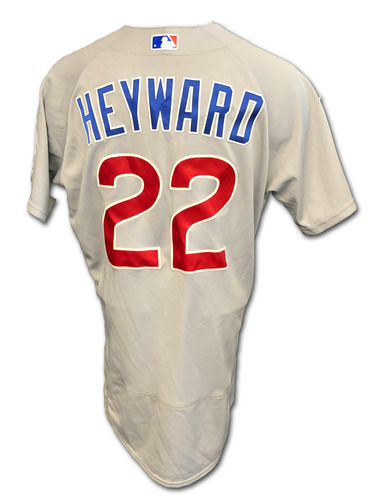 Photo of Jason Heyward Team-Issued Jersey -- 2020 Season -- Size 44T + 1 B