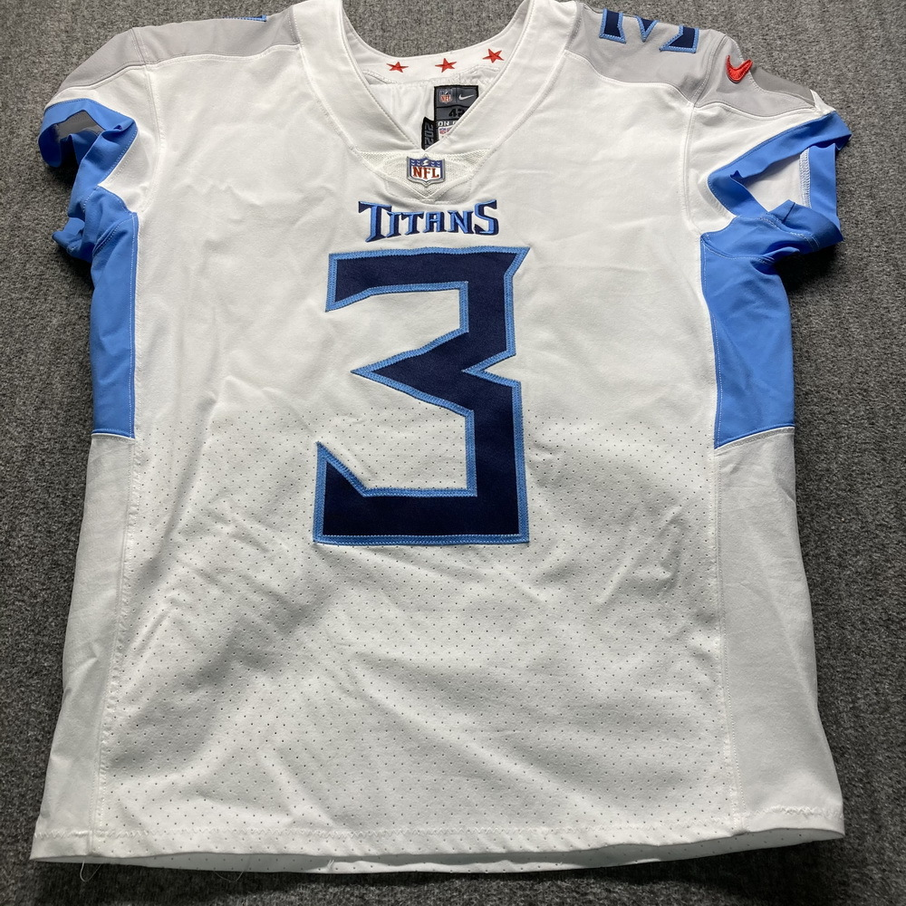 NFL Auction | STS - Titans Stephen Gostkowski Signed Game Used ...