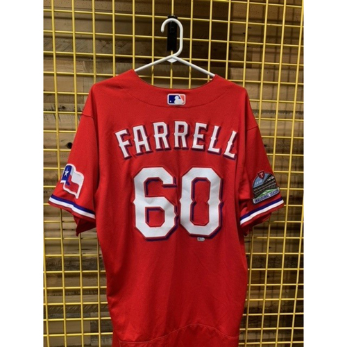 Photo of Team-Issued Luke Farrell Red Jersey