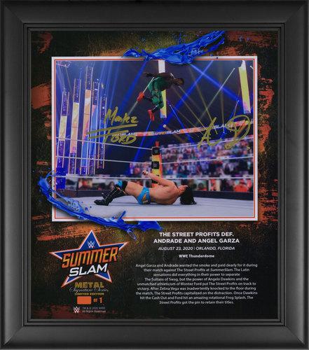 Photo of Street Profits SIGNED SummerSlam 2020 Signature Series Plaque (#1 of 1)