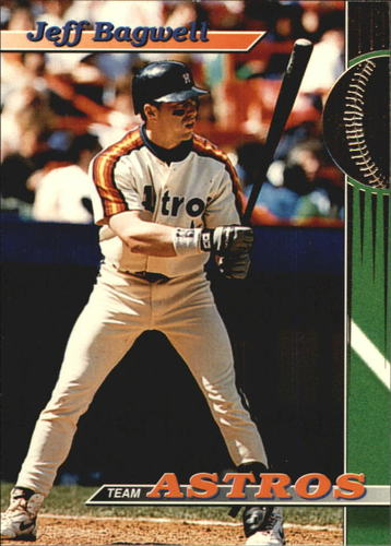 Photo of 1993 Astros Stadium Club #8 Jeff Bagwell
