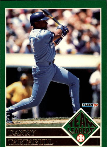 Photo of 1992 Fleer Team Leaders #18 Danny Tartabull