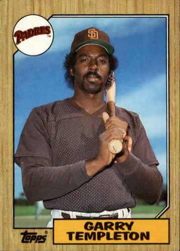 Photo of 1987 Topps #325 Garry Templeton