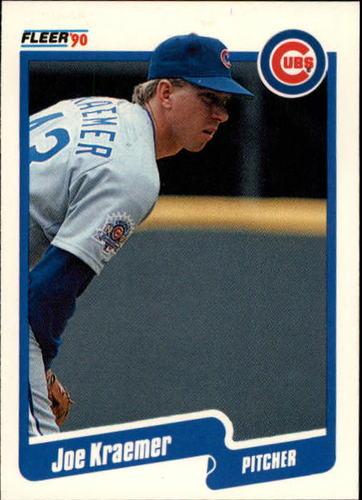 Photo of 1990 Fleer Update #8 Joe Kraemer RC