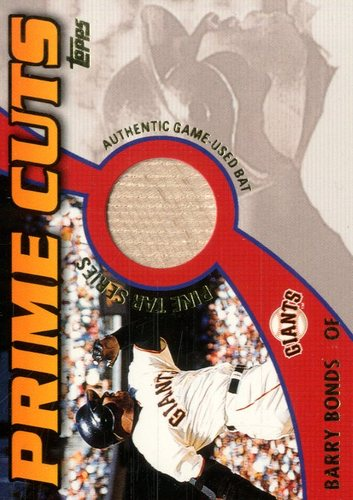 Photo of 2002 Topps Prime Cuts Pine Tar Relics #PCPBB Barry Bonds 1