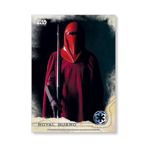 Royal Guard 2016 Star Wars Rogue One Series One Base Poster - # to 99