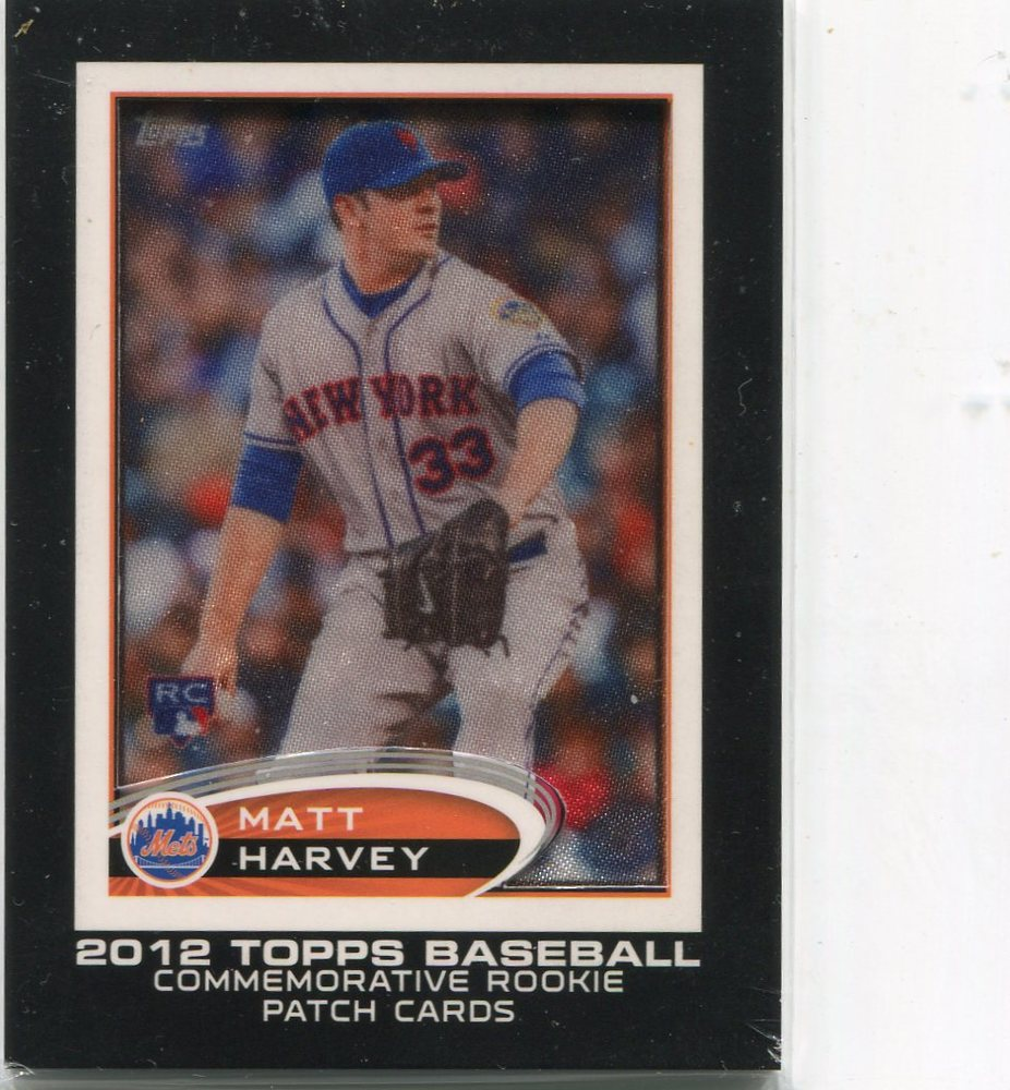 2014 Topps Manufactured Commemorative Rookie Card Patch #RCP18 Matt Harvey