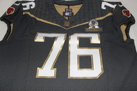 NFL - CARDINALS MIKE IUPATI 2016 TEAM IRVIN GAME ISSUED PRO BOWL JERSEY - SIZE 52