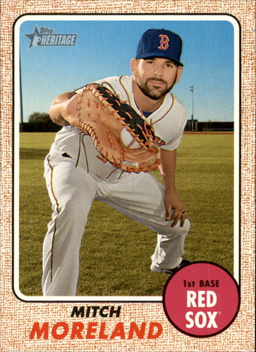 Photo of 2017 Topps Heritage #261 Mitch Moreland