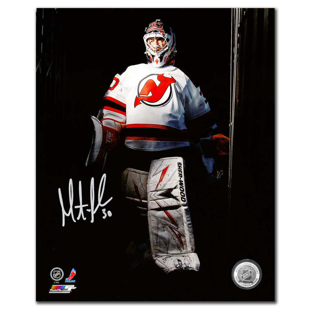 Martin Brodeur New Jersey Devils TUNNEL Autographed 8x10