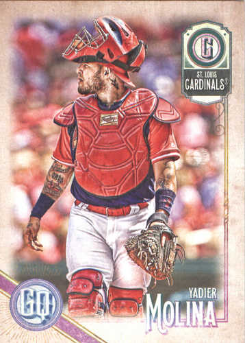Photo of 2018 Topps Gypsy Queen #6 Yadier Molina