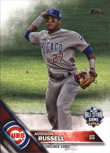 Photo of 2016 Topps Update #US93 Addison Russell AS