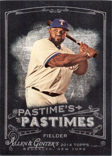 Photo of 2014 Topps Allen and Ginter The Pastime's Pastime #PPPF Prince Fielder